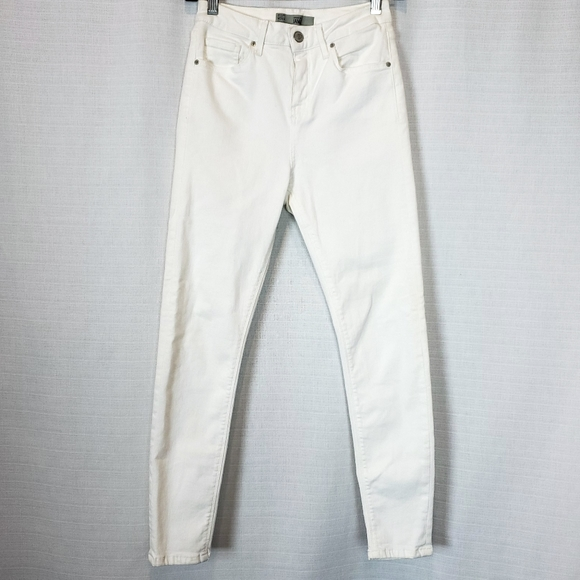 Topshop Denim - Topshop | Moto Jamie White High Rise Jean 28
